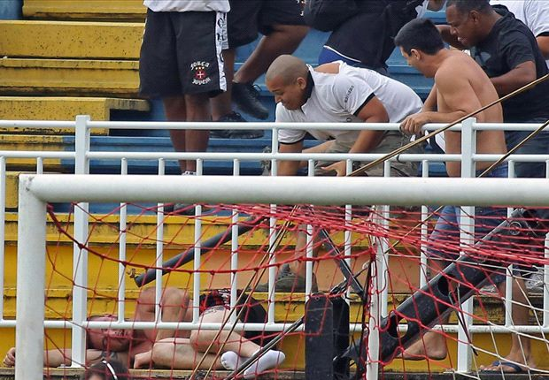 Brazilian clubs given mammoth bans for stadium violence