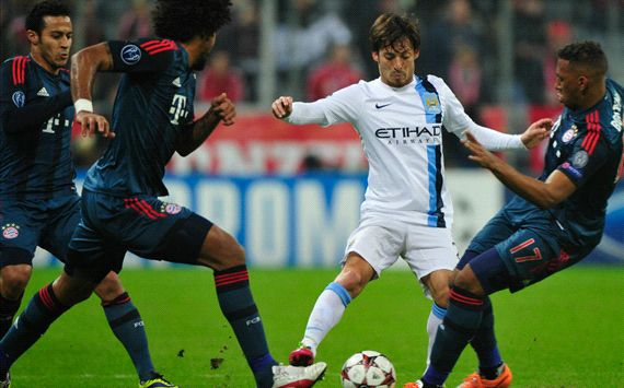 Bayern Munchen vs Manchester City