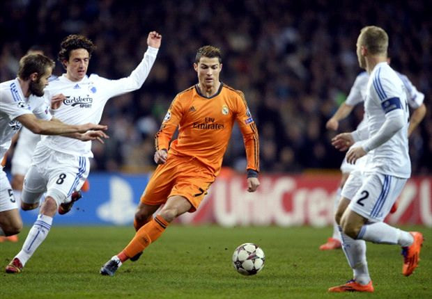 Copenhagen 0-2 Real Madrid: Record-breaking Ronaldo leads Blancos to win