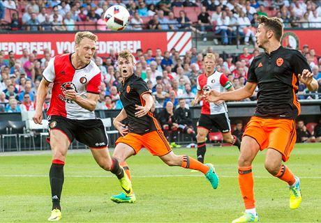 Feyenoord heeft laatste woord tegen Valencia
