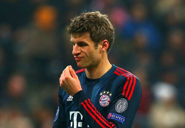 Muller out with hamstring injury as Ribery nears Bayern return