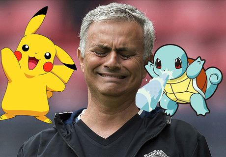 Mourinho bans Pokemon Go at Man Utd