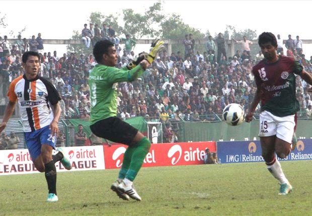 Mohun Bagan 1-1 Mumbai FC: Wasteful Mariners settle for a draw