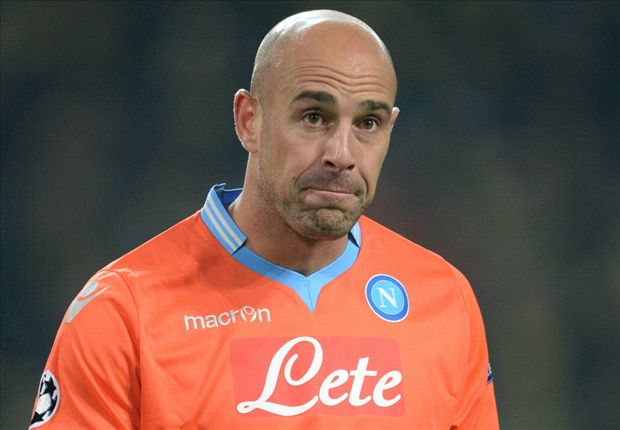 Liverpool tell Napoli: Reina will cost £4m