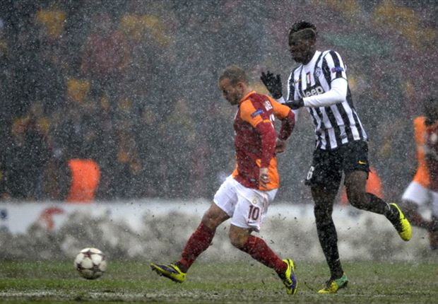 Galatasaray 1-0 Juventus: Sneijder sends Mancini's men into the knockout stage