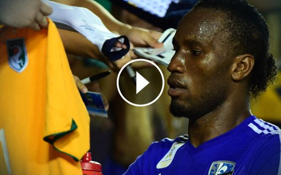 WATCH: Drogba bags three for Impact