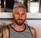 MESSI'S NEW HAIR: Twitter reacts