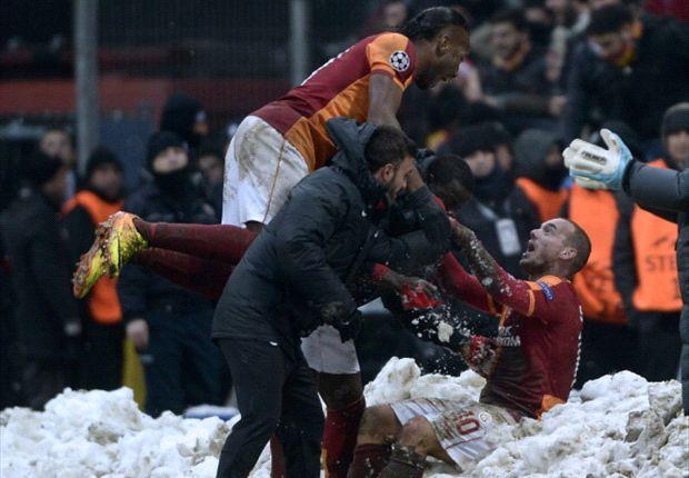 Jubel im Schnee: Galatasaray siegt gegen Juventus!
