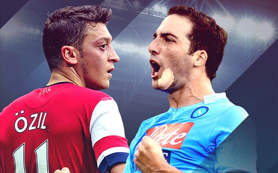 FT: Napoli 2-0 Arsenal