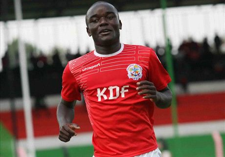Ulinzi Stars striker inches close to the top