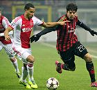 Milan scrape into knock-outs