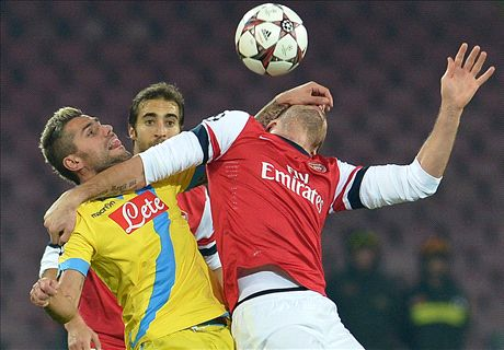 LIVE: Napoli 1-0 Arsenal