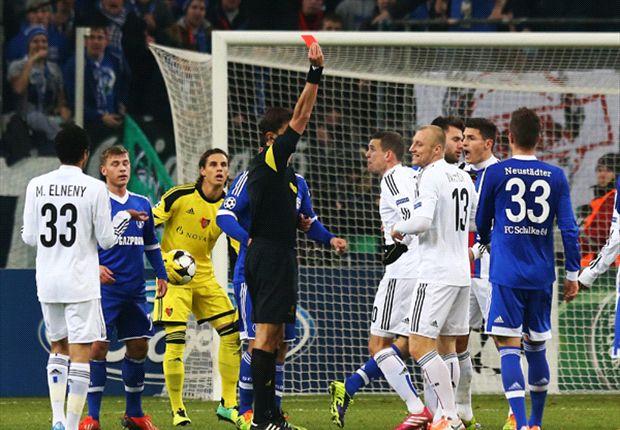 Die Rote Karte gegen Basels Iwanow war nicht für alle Beteiligten nachvollziebar