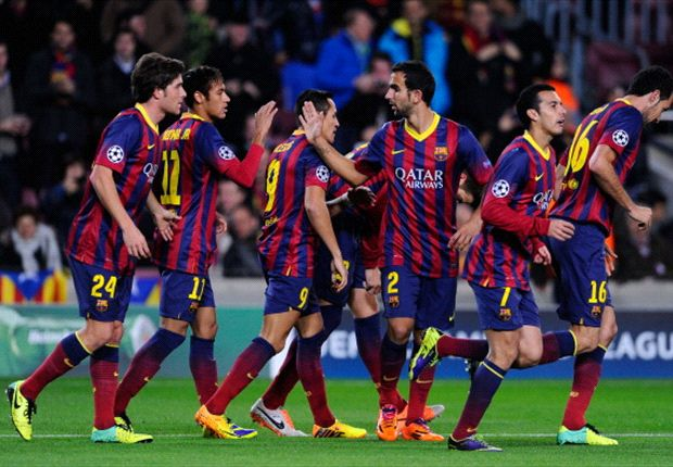 Barcelona agree 'innovative' sponsorship deal with Intel