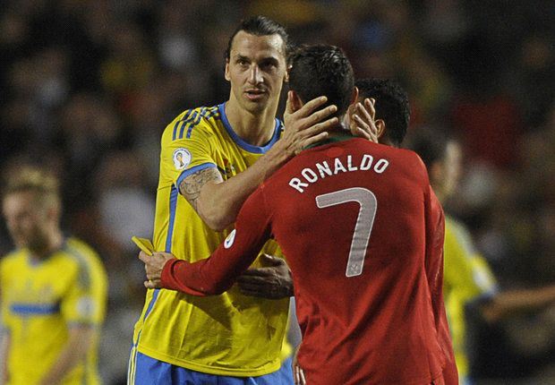 'The shirt will look better on me!' - Ibrahimovic & Ronaldo in playful Twitter exchange