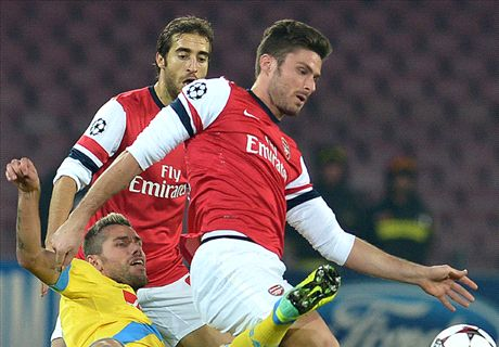 Arsenal must prove they can beat the best after missing their chance at Napoli