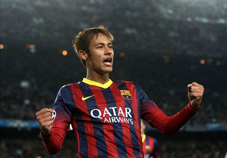 Neymar hat-trick fourth fastest in Champions League history