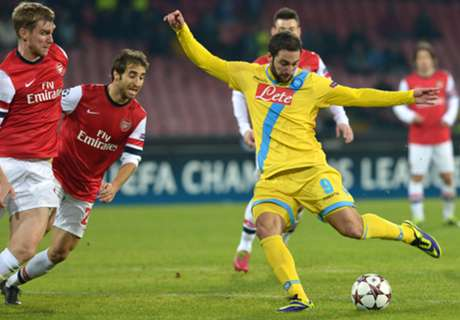 Player Ratings: Napoli 2-0 Arsenal
