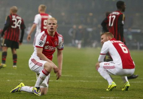 Ajax 'twice as good' as Milan - De Boer