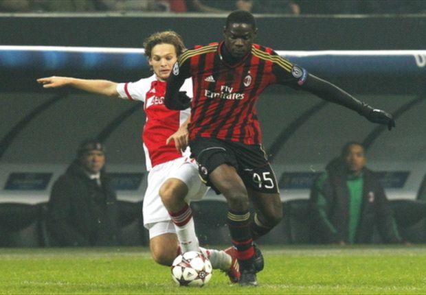Daley Blind von Ajax nahm Balotelli vom AC Milan quasi völlig aus dem Spiel