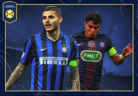 LIVE: Inter v Paris Saint-Germain