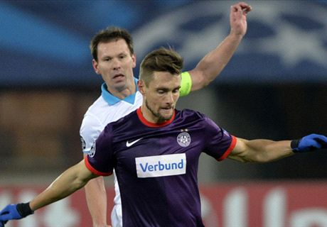 Player Ratings: Austria Vienna 4-1 Zenit