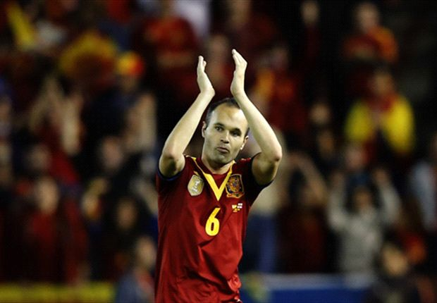 Spain still hungry for success, says Iniesta