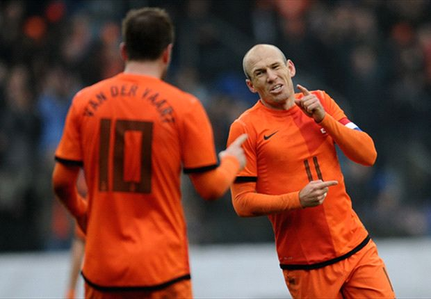 Netherlands ace Robben out of France friendly