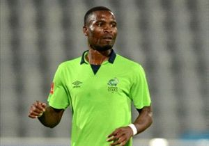 Robert Ng'ambi was on target for Platinum Stars