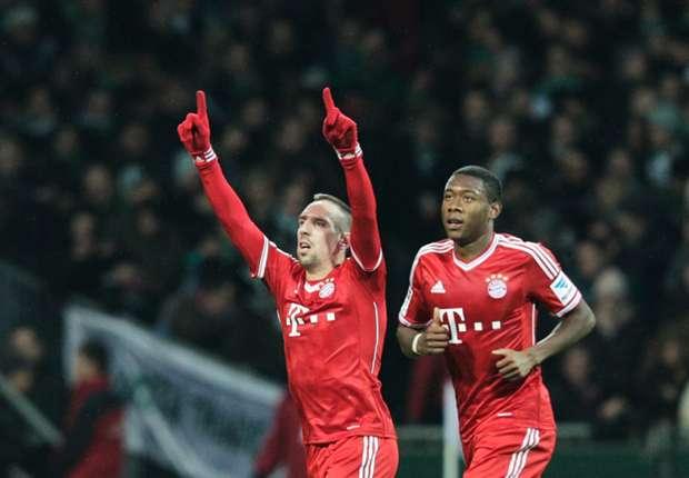 Fit-again Ribery hints at Bayern return against Frankfurt