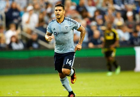 Olympiakos makes bid for SKC's Dwyer