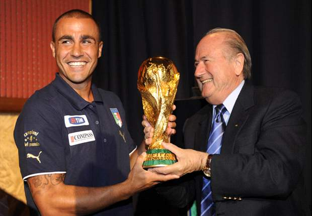 World Cup 2010: Former Italy Captain To Hand Over Trophy For Netherlands - Spain Final