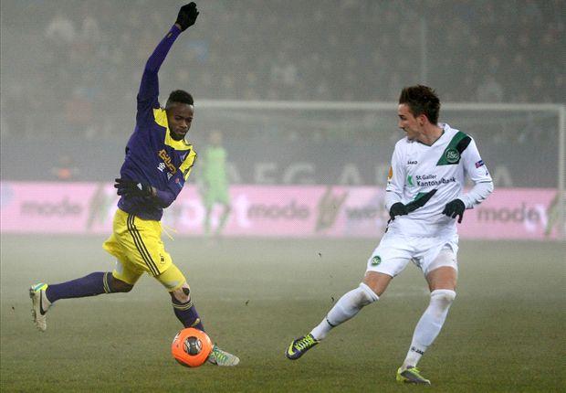 St Gallen 1-0 Swansea City: Visitors through despite defeat