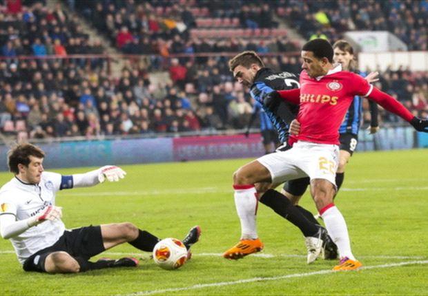 PSV gaat ook in Europa ten onder