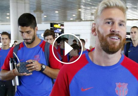 El Barcelona viaja a Inglaterra
