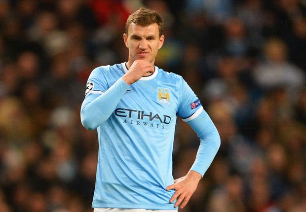 Tottenham join race for Dzeko