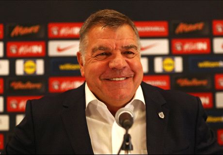 Allardyce late on his first day