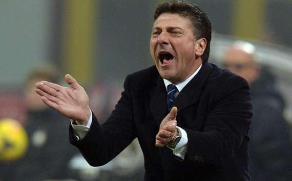 Inter coach Walter Mazzarri