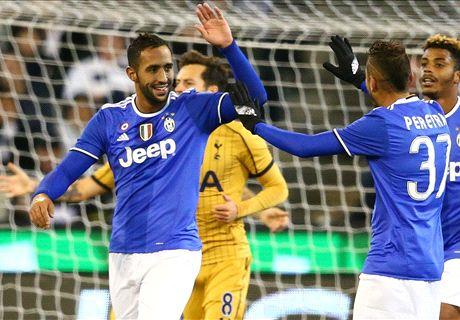 Juventus-Tottenham LIVE! 2-0, Benatia