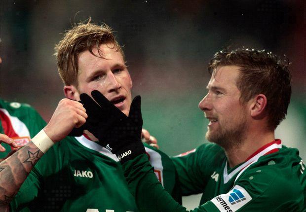 Der FC Augsburg spielt eine starke Hinrunde