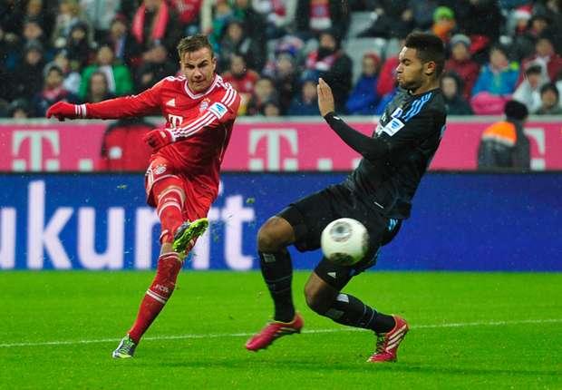 Bayern 'Herbstmeister' na winst op HSV