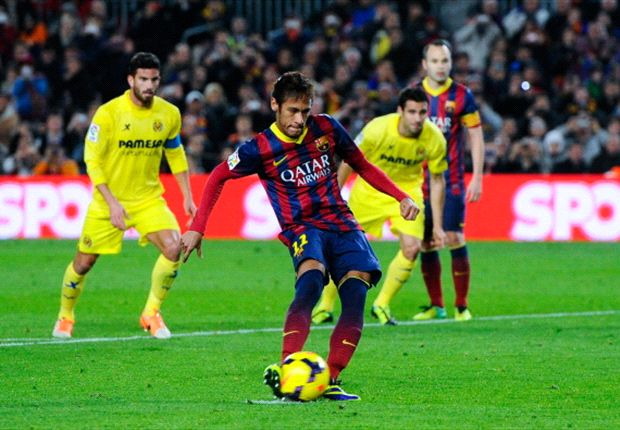 Barcelona 2-1 Villarreal: Neymar lights up Camp Nou