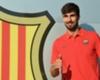 El Barça presentó a su nuevo refuerzo