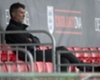 Roy Keane watches Barcelona training