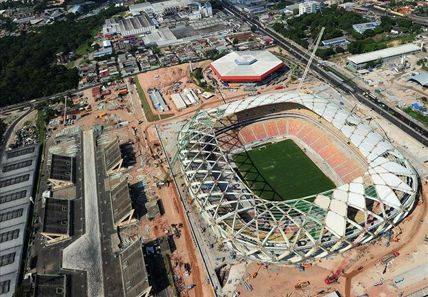Worker killed in World Cup stadium accident