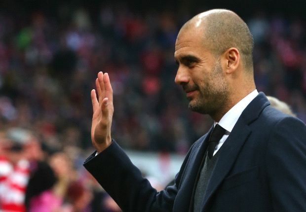 Humble Pep Guardiola hails 'Messi era'