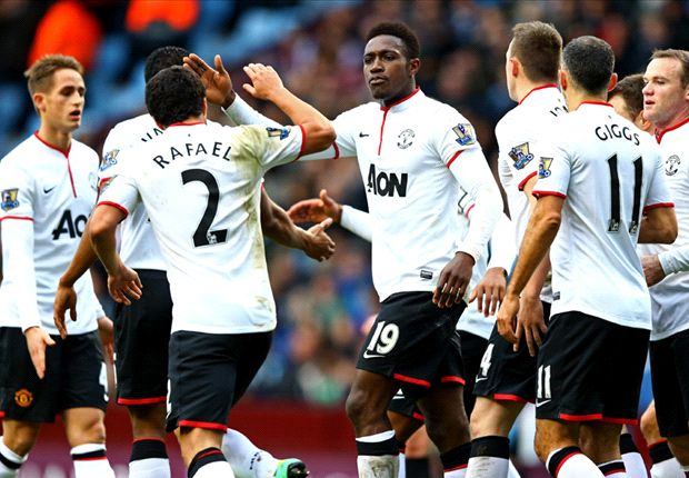 Aston Villa 0-3 Manchester United: Welbeck double gets Moyes' men back on track
