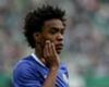 Willian hits friendly hat-trick