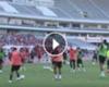 VIDEO: Rooney desata las burlas al 'comerse' dos túneles seguidos