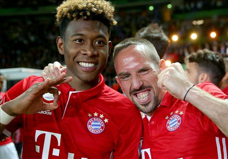 Alaba: Ribery like a big brother to me